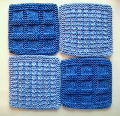 Soft Natural Dish Cloths  Wash Cloths Shades by CozyKitchenKnits, $12.00