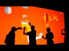 Multi Touch Music Wall