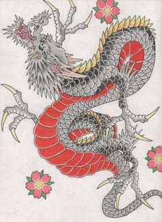 Japanese Dragon by InvictusEindhoven