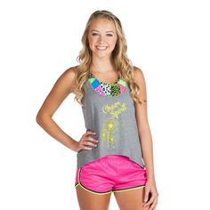 Kinsley Cute Cheer Practice Youth Soffe Shorts
