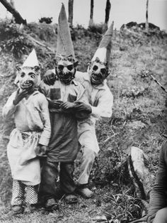 More scary vintage Halloween costumes – in pictures