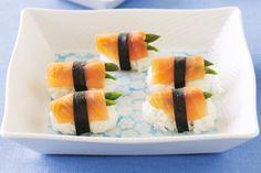 Asparagus Salmon Battleships Recipe - Taste.com.au