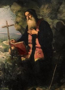 St. Maron, an Aramaic Maronite Catholic Saint