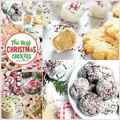 Christmas Cookies - These Christmas Cookie Recipes are delicious and easy to make. Perfect for Christmas desserts and edible neighbor Christmas gifts!