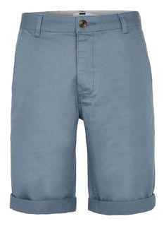 Blue Long Length Chino Shorts - Men's Shorts - Clothing - TOPMAN USA