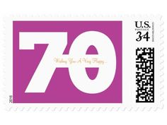 30 messages from 30 friends stamps 70th Birthday Ideas For Mom, 70th Birthday Parties, Mom Birthday, Message For Best Friend, Milestone Birthdays, Birthday Messages, Stamps, Crafts, Friends