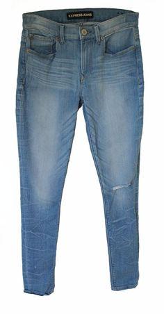 Details about NWOT BLEULAB Women's Skinny Jeans Detour Legging ...