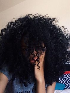 Afro hair of girls