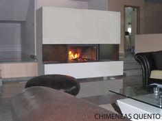 Chimenea Quento Vilar con Stuv 21/105 by ChimeneasQuento, via Flickr