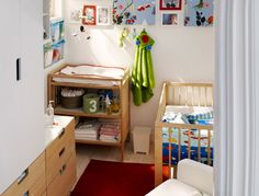 ikea changing tables and baby rooms on pinterest. Black Bedroom Furniture Sets. Home Design Ideas