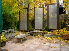 Patio Privacy Screen Design Ideas, Pictures, Remodel, and Decor