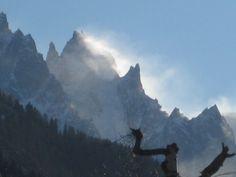 Mont Blanc, Chamonix, France.  Nicola Cole