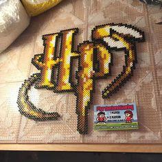 Harry Potter  perler beads by  tyler_plurden