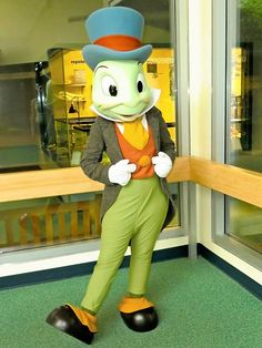 Meet Jiminy Cricket at Rafiki's Planet Watch