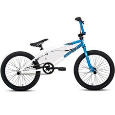 "Amazon.com : 20"" DK Ratchet BMX Bike, White : Bmx Bicycles : Sports & Outdoors"