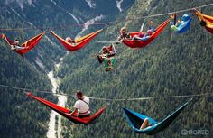 The International Highline Meeting festival in the Italian Alpes Adventure Awaits, Adventure Travel, Nature Adventure, The Places Youll Go, Places To Visit, Escalade, Kayak, Pictures Of The Week, Random Pictures