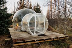 Located in a secluded area about an hour's drive from Reykjavik, the Buubble Hotel is a climate-controlled way to take in nature. In the winter, each of the hotel's five rooms offers vistas of the snow and, if you're lucky,...