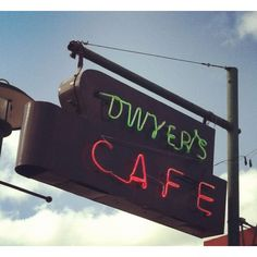 Dwyer's Cafe Lafayette, LA. If you visit, you must eat here! Great breakfast.