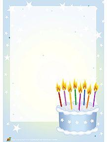 papier lettre anniversaire imprimer sur hugolescargot