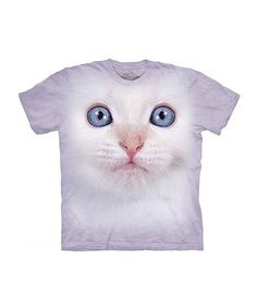 Another great find on #zulily! Lilac Cuddly Kitten Tee - Toddler & Kids #zulilyfinds