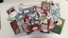 Swaps from the Pootlers Team Craft Weekend Stampin Up, The Creator, Gift Wrapping, Holiday Decor, Crafts, Gift Wrapping Paper, Manualidades, Wrapping Gifts, Stamping Up
