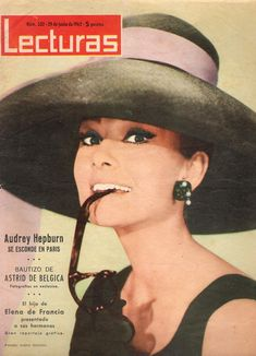 Audrey Hepburn on spanish Lecturas magazine, 1962