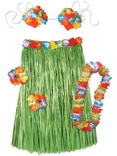 7e82d57e0 Check out Hula Set Costume - Luau Costumes from Costume Super Center Hawaiian  Luau, Hawaiian
