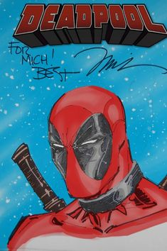 Deadpool by Jim Lee.Colors by me.
