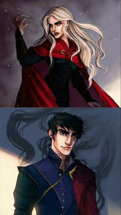Dorian and manon > there needs to be more art of these two [by ProjectNelm?]