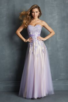 8205659ec816d Beautiful Prom Dresses A Line Floor Length Appliqued Bodice Tulle Skirt  2014 Robe De Bal Longue