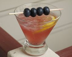 Blueberry Cocktail Recipe YUM