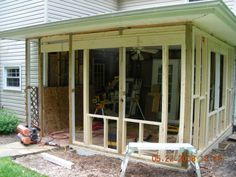 Enclosing A Porch This Just Doesn T Look That Hard To Do What