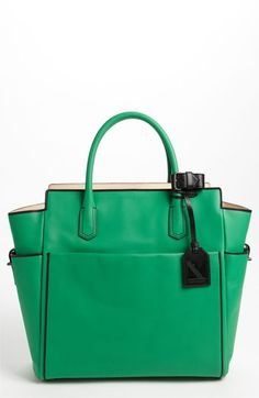 Love this color!!     Reed Krakoff Leather tote