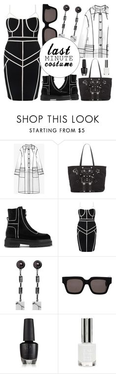"""""""last minute costume"""" by madeinmalaysia ❤ liked on Polyvore featuring Miu Miu, Prada, Pierre Hardy, CÉLINE, Topshop and lastminutecostume"""