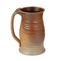 Get your medieval groove on with this fourteenth century stoneware. Two pints of your favorite ale or lager can be poured into this hefty stein. Use it during a dinner party, or while watching Monday night football–it's suitable for every occasion, basically. A word of caution: don't share this beer stein with your buddy. Rumor has it the plague is going around!