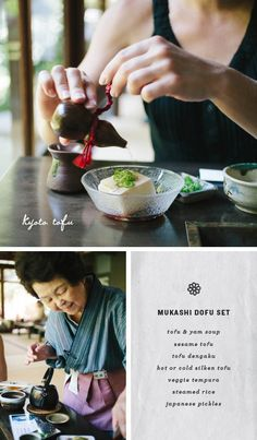 Okutan, a 350 year old yudofu restaurant in Kyoto, where they make their own tofu on site every morning. / loveandlemons.com