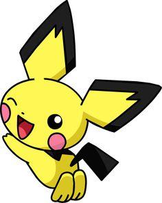 Pichu Pokemon, Baby Pokemon, Pokemon Pokedex, Cute Pikachu, Cute Pokemon, Pokemon Go, Pokemon Channel, Lion King Movie, Store
