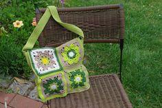 """Handtasche - Umhängetasche """"Granny Square"""" - ein Designerstück von Andreas-KreativWelt bei DaWanda"""