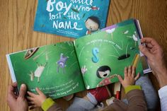 Personalized Childrens books with their names