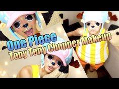 ▶ トニートニー・チョッパーになってみた☆One Piece Tony Tony Chopper Makeup - YouTube