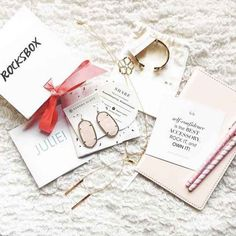 Rocksbox: The Premium Jewelry Subscription Box Beauty Box Subscriptions, Subscription Boxes, Monthly Subscription, Still Love You, Rose Earrings, Kendra Scott Jewelry, Box Design, Cool Gifts, Stylish