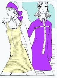 1960 fashion illustration - Google Search