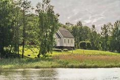 Fritidshus 44 kvm, Ingar, lugn milj nra natur - Chalet in