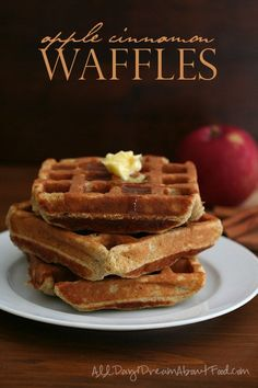 Delicious low carb, grain-free waffles with a hint of apple and cinnamon. Pair them with my sugar-free low carb caramel sauce for a special fall breakfast! It's strange to think that thisis our la...