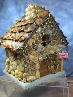 Large Wee Brigadoon Cottage for Fairy Gardens by WeeBrigadoon