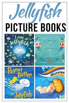 Whether you're studying the ocean or just planning a trip there, kids will love these jellyfish books for preschoolers! Fiction and nonfiction selections! Letter J Activities, Ocean Activities, Dinosaur Activities, Best Children Books, Childrens Books, Toddler Books, Classroom Themes, Classroom Activities, Preschool Books