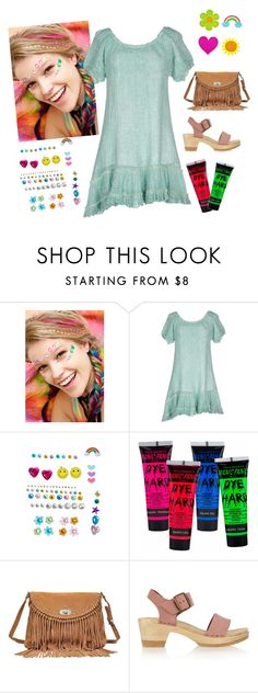"""""""Try Something Different"""" by sassyladies ❤ liked on Polyvore featuring Wicked Hippie, PIN UP STARS, Manic Panic, Zadig & Voltaire and No.6"""