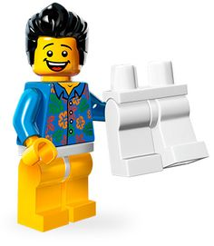 Lego Movie Minifigures - Where Are My Pants Guy