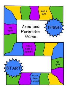 Allow your students to review or practice area and perimeter with this fun math center.