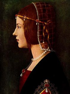 Beatrice d'Este was the famous Duchess of Milan, wife of Ludovico Sforza